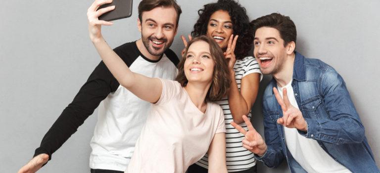 melhorar suas selfies