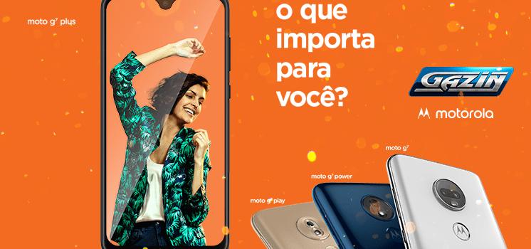 Lançamento Motorola: saiba tudo sobre a linha Moto G7