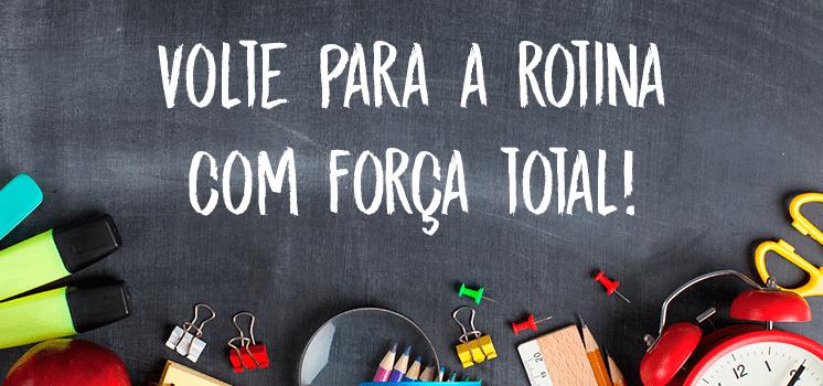 Volta as aulas: como recomeçar a rotina com força total