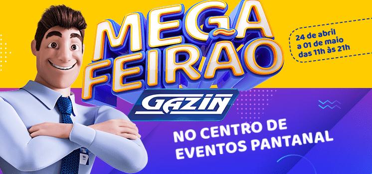 Mega Feirão Gazin Cuiabá: um show de ofertas