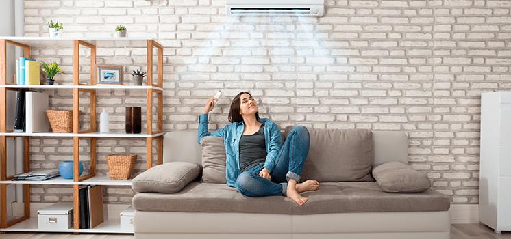 climatização do ambiente Gazin