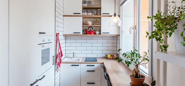 Como ganhar espaço na sua cozinha pequena
