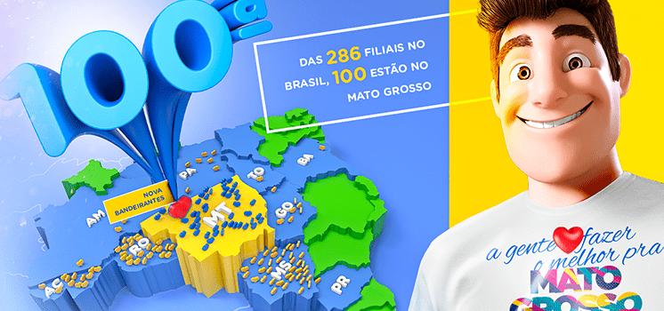 100ª loja: entenda o amor da Gazin por Mato Grosso