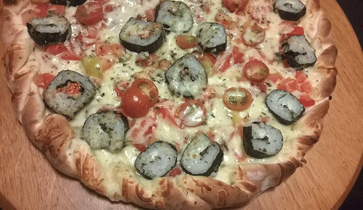 pizza de sushi
