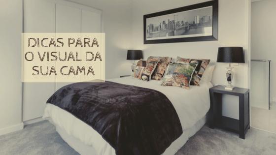 Vários jeitos de decorar a cama