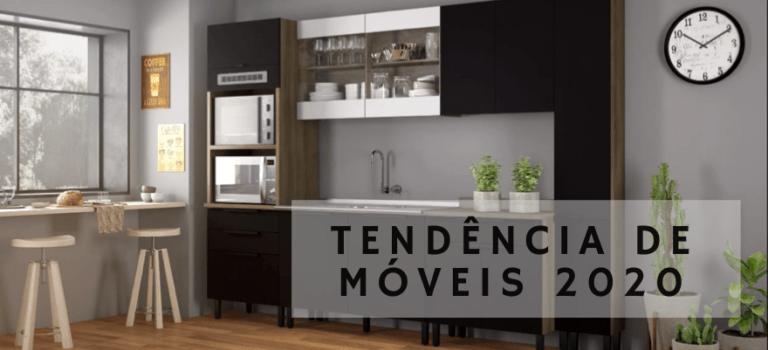 TENDÊNCIA DE MÓVEIS 2020 – Cozinhas monocromáticas!