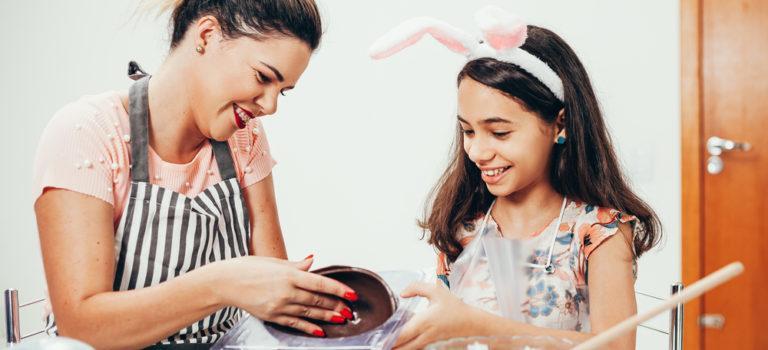 5 coisas que você precisa ter em casa para fazer ovos de Páscoa